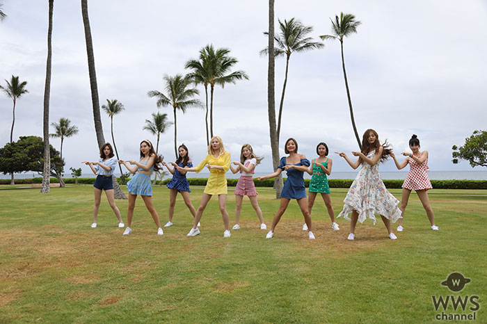 TWICE in ハワイ!「HAPPY HAPPY」のダンスも含む、Dance Making Video In Hawaii解禁!