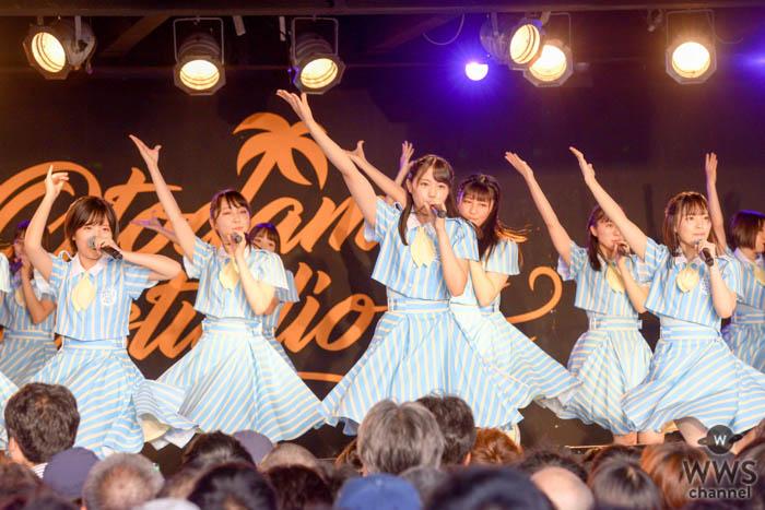 【ライブレポート】STU48、海の日に『OTODAMA SEA STUDIO』初出演!最新シングル『大好きな人』からSKE48『ごめんね、SUMMER』までライブ熱唱!
