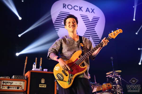 【ライブレポート】ストレイテナー・ホリエアツシ、誕生日にフジファブリックからサプライズ!<ROCK AX Vol.3>