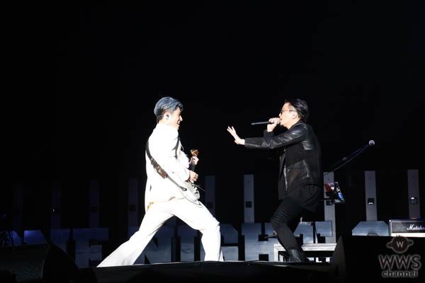 【ライブレポート】MIYAVI、KREVAとコラボした『STRONG』を熱演!<ONE NIGHT SHOW 2019>
