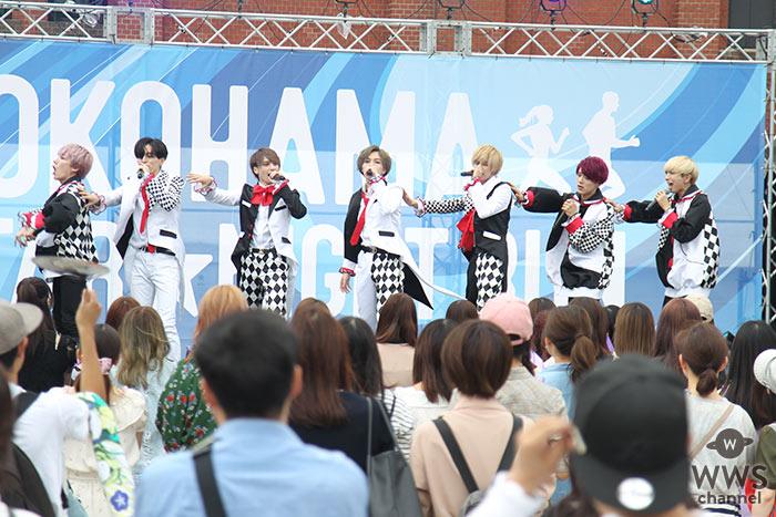 【写真特集】7人組メンズグループ ・BUZZ-ER.( ブザー )がキレキレのダンスパフォーマンス!<YOKOHAMA STAR☆NIGHT RUN 2019>