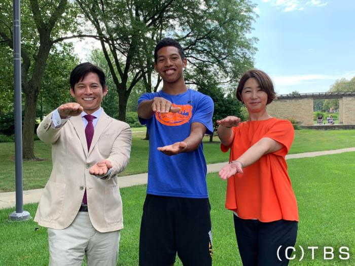 織田裕二がサニブラウン選手の強さの秘密に迫る!『世界陸上ドーハ』まであと1ヶ月