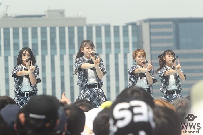 ラストアイドル・LaLuce がTIF2019初日にデビュー曲 『バンドワゴン』を熱唱!