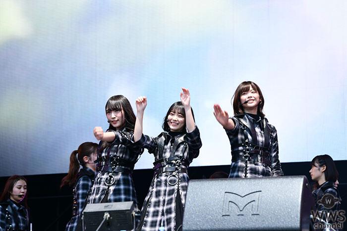 【ライブレポート】欅坂46が「ROCK IN JAPAN FESTIVAL 2019」2日目のオープニングに登場! タータンチェックの新衣装で2期生も引き連れてのパフォーマンス。