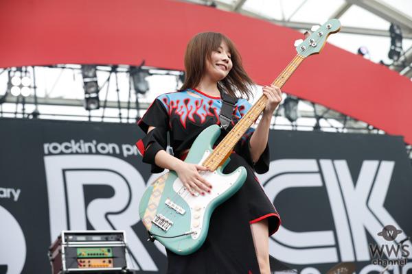 【ライブレポート】SILENT SIRENが夏を感じさせるサマーチューン&パーティーチューンで満員のLAKE STAGEを魅了!<ROCK IN JAPAN FESTIVAL 2019>