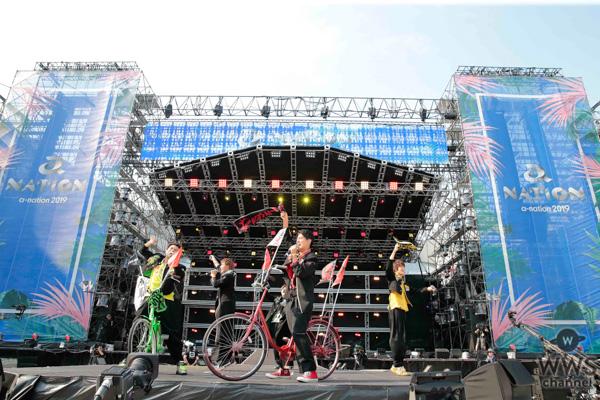 BOYS AND MEN(ボイメン)が「a-nation 2019」大阪公演に登場!会場一体のパフォーマンスで盛り上げる!<a-nation 2019>