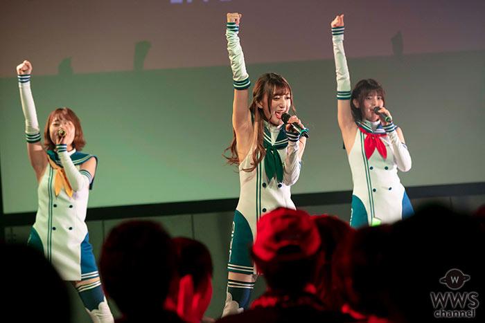 【ライブレポート】レースクイーンたちによるユニットOIRC(仮)、サーキットを飛び出してついに初ステージ!!<UNION STAR'S 2019>