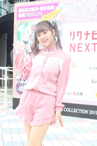 つぼみ大革命・ 恵梨華、水森依音が関西コレクション2019 A/Wをレポート!