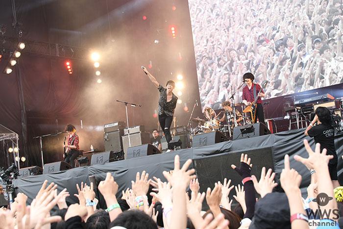 【ライブレポート】[ALEXANDROS]がGRASS STAGEに登場!最高にロックなパフォーマンスで魅了する!<ROCK IN JAPAN FESTIVAL 2019>
