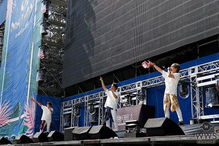 天才凡人が「a-nation 2019」大阪公演のオープニングアクトを務める!<a-nation 2019>