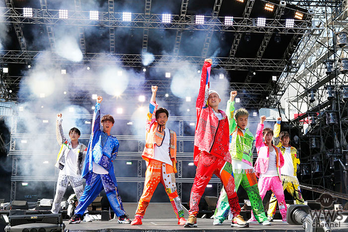 DA PUMPが「a-nation 2019」大阪公演で熱狂のパフォーマンス!<a-nation 2019>