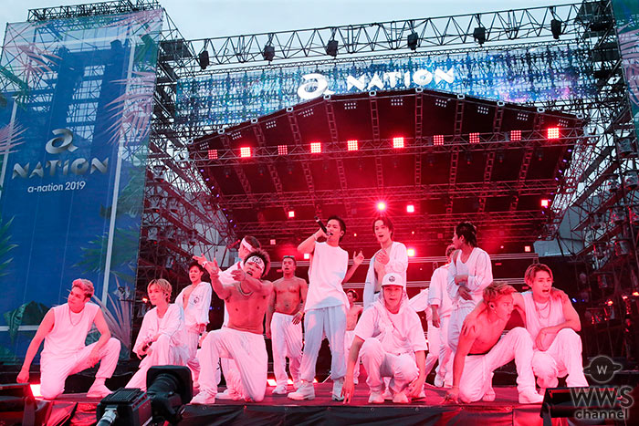 THE RAMPAGEが2日目の「a-nation 2019」大阪公演で圧倒的パフォーマンスを見せつける!<a-nation 2019>