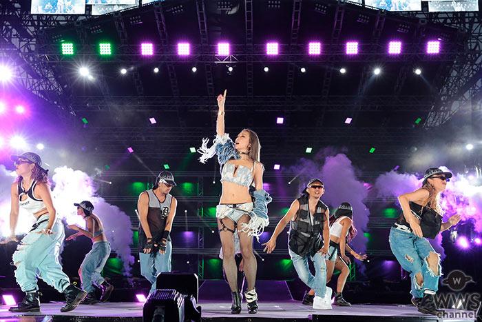 倖田來未が「a-nation 2019」大阪公演に登場!繰り出されるダンスパフォーマンスに会場熱狂 <a-nation 2019>