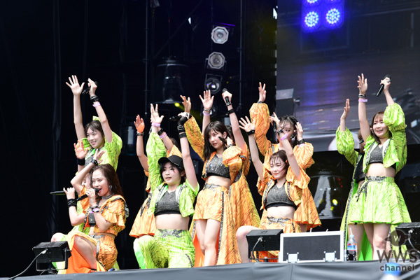 【ライブレポート】モーニング娘。'19がGRASS STAGEで名曲ぞろいの圧巻のステージを見せる!小田さくら、復帰ステージで元気一杯パフォーマンスも! 〈ROCK IN JAPAN FESTIVAL 2019〉