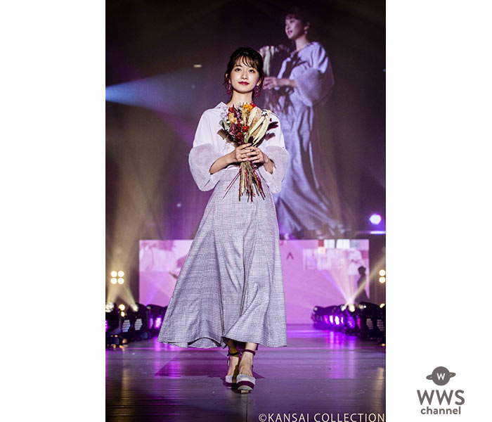 """CanCam専属モデルの小室安未が、 """"関コレ"""" でかわいすぎる着物姿を披露!"""