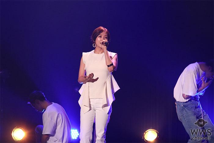 伊藤千晃、FANCLUB TOUR 2019「CHEERS CHOICE」にてレゲトンで表現した最新曲「Burning up」を初歌唱!