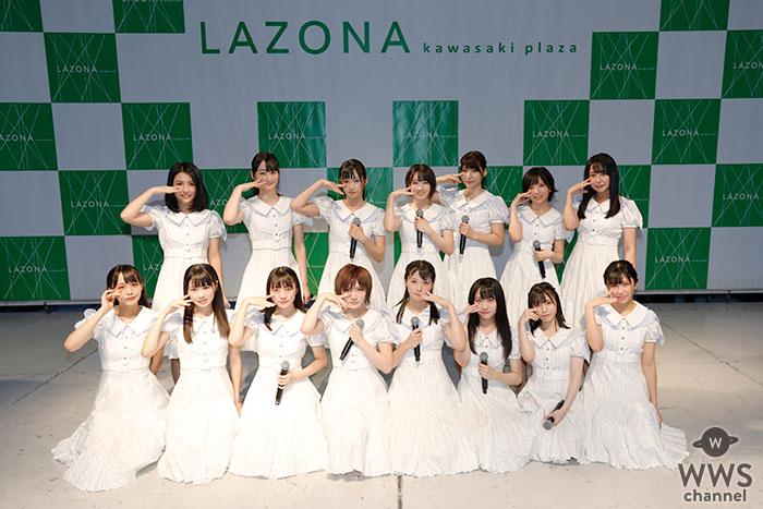 STU48キャプテン 岡田奈々「ただいま!」ラゾーナ川崎プラザでリリースイベント開催!