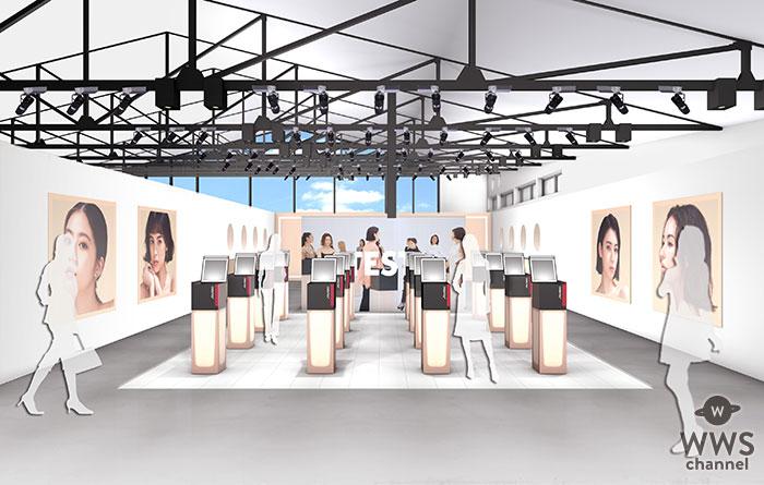 「SHISEIDO」新ファンデーションをTESTできるポップアップイベントが2日間限定で表参道にオープン!今田美桜・三吉彩花ら出演のWEB動画も公開!