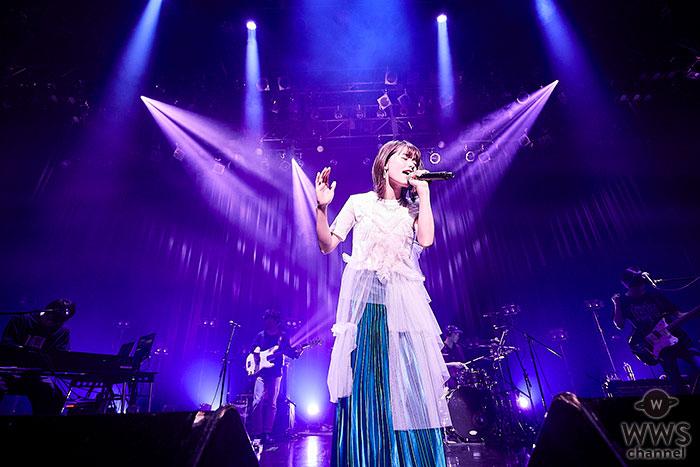 足立佳奈、デビュー2周年を記念したワンマンライブが大盛況で終了!