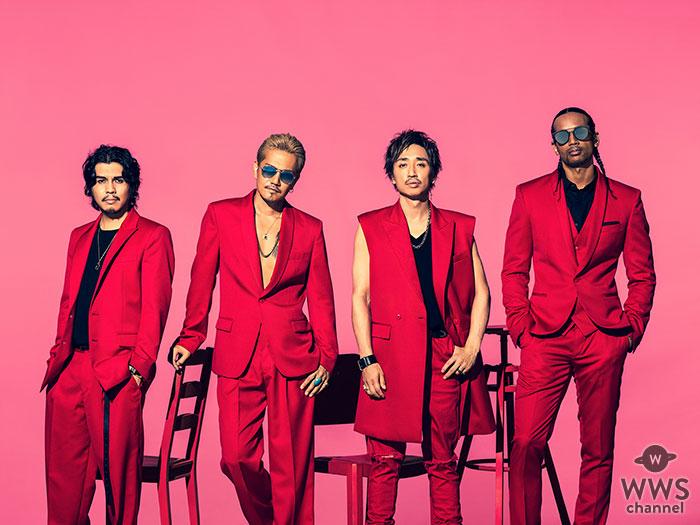 EXILE ATSUSHI率いる4人組バンド・RED DIAMOND DOGSが新曲「GOOD VIBES」のミュージックビデオを公開!