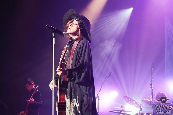 清春、東京&大阪ホール公演『Covers』ファイナルでみせた「自由で麗しき美学」
