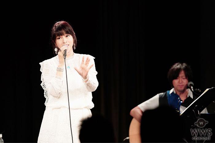 宇徳敬子、25周年デビュー記念日に初の全国5都市カフェライヴツアー完走!
