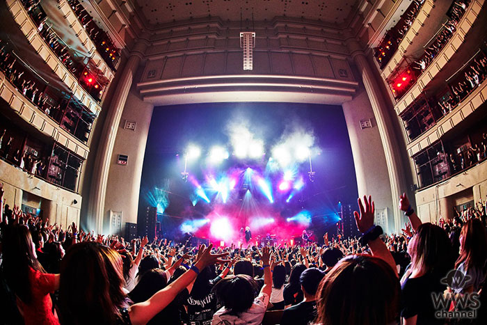 the GazettE、日本凱旋公演に横須賀が熱狂!