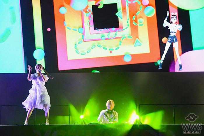 SUMMER SONIC 2019の中田ヤスタカときゃりーぱみゅぱみゅのステージにサプライズゲストとしてKizuna AIが参加!