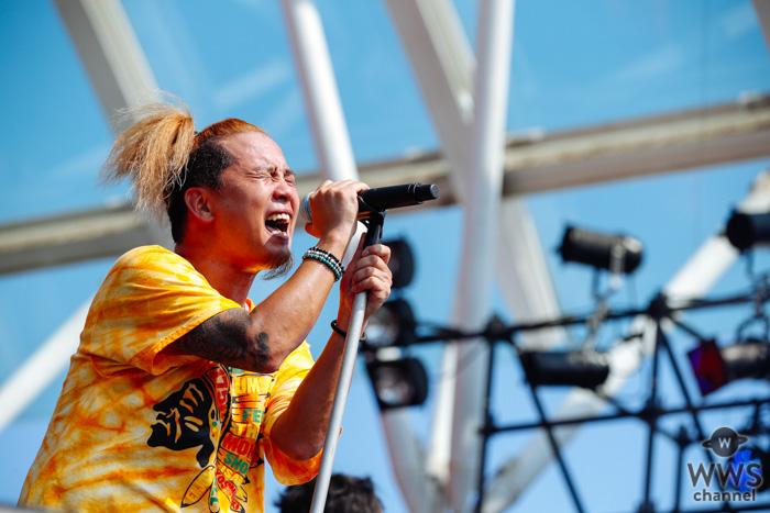 【ライブレポート】175Rが「ROCK IN JAPAN FESTIVAL 2019」初日のLAKE STAGEに登場! 夏が似合うバンドの変わらぬ青春パンクに、KICK THE CAN CREWのMCUも飛び入り参加!<ROCK IN JAPAN FESTIVAL 2019>