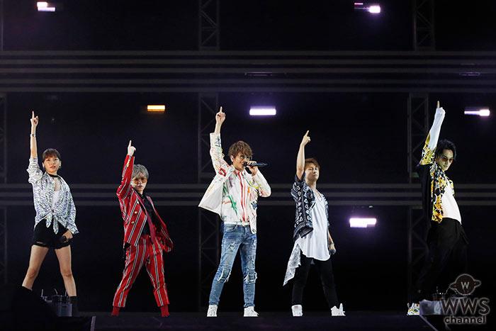 AAAが「a-nation 2019」大阪公演にヘッドライナーで登場!圧巻のダンスパフォーマンスで魅せる!<a-nation 2019>