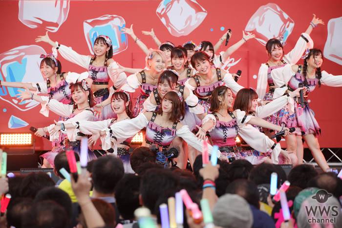 SKE48 チームKⅡが怒涛のノンストップ6曲披露で熱すぎるパフォーマンス!<SUMMER STATION 音楽LIVE>