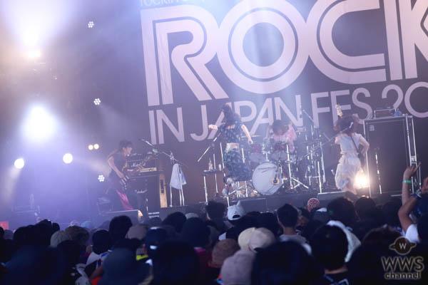 【ライブレポート】赤い公園が挑戦的なセットリストでオーディエンスを沸かす!<ROCK IN JAPAN FESTIVAL 2019>