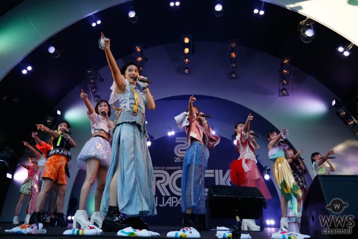 【ライブレポート】アンジュルムがタオルを振り回す『夏将軍』で2日目のSOUND OF FORESTに登場!!<ROCK IN JAPAN FESTIVAL 2019>