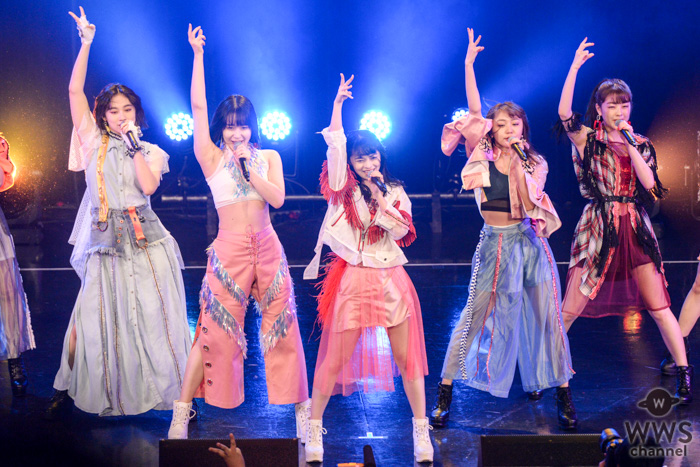 アンジュルムが『TIF2019』初日のトリを飾る!5年ぶりのTIFで『大器晩成』、『夢見る 15歳』を披露!<TOKYO IDOL FESTIVAL 2019>