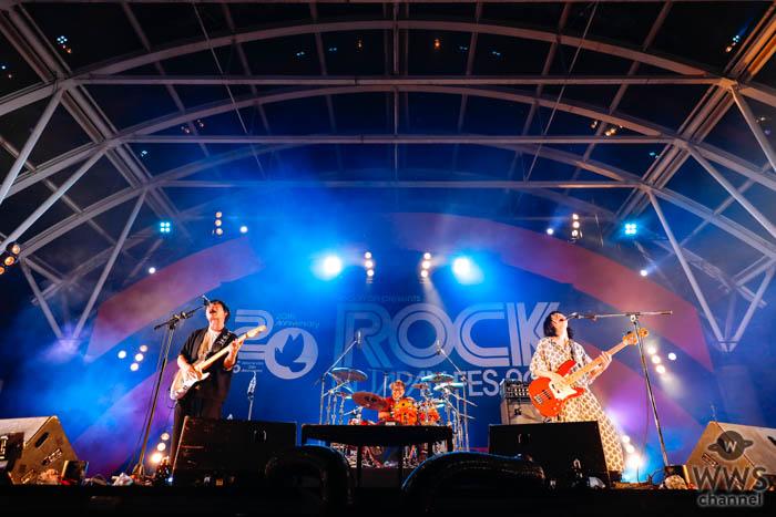 【ライブレポート】スリーピースバンド・Base Ball BearがLAKE STAGEで新曲『いまは僕の目を見て』を披露!<ROCK IN JAPAN FESTIVAL 2019>
