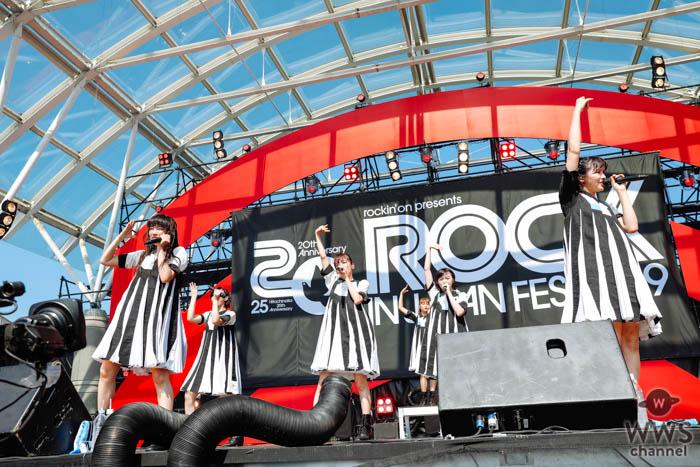 【ライブレポート】私立恵比寿中学が結成10周年の記念日となる日に、満を持してLAKE STAGEでパフォーマンス!<ROCK IN JAPAN FESTIVAL 2019>