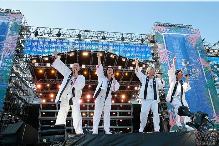ET-KINGが「a-nation 2019」大阪公演を会場一体で盛り上げる!<a-nation 2019>