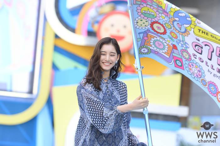 新木優子が最新ファッションでめざましライブ×TGCコラボランウェイに登場!
