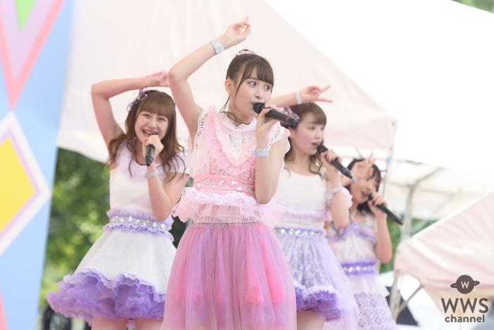 【写真特集】ふわふわが『TIF2019』初日の「SMILE GARDEN」でパフォーマンス!<TOKYO IDOL FESTIVAL 2019>が『TIF2019』初日の「SMILE GARDEN」でパフォーマンス!<TOKYO IDOL FESTIVAL 2019>