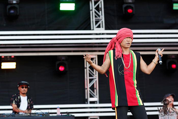 HAN-KUN、「a-nation 2019」大阪公演でオーディエンスを圧倒!<a-nation 2019>