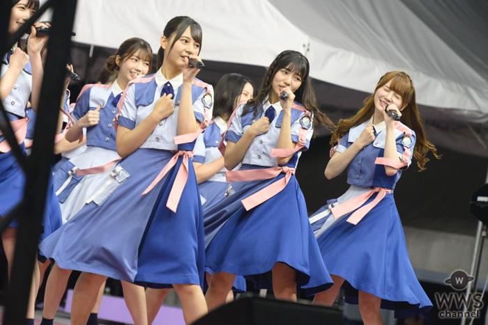 日向坂46が『TIF2019』2日目の「SMILE GARDEN」トリに登場!<TOKYO IDOL FESTIVAL 2019>