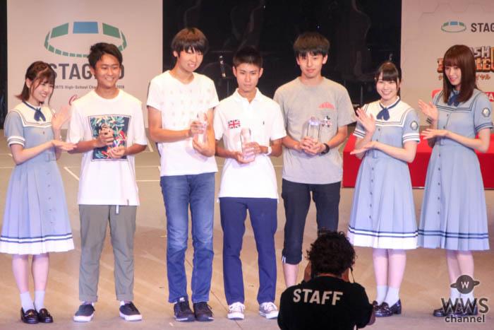 日向坂46がステージゼロ・初日の表彰式に登場<STAGE:0(ステージゼロ)>