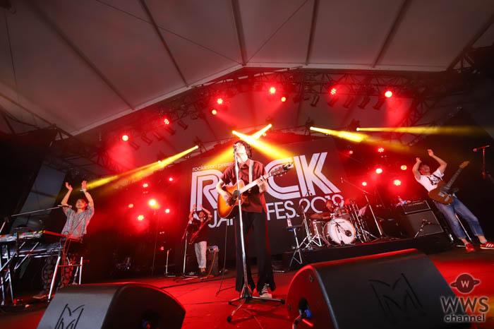 【ライブレポート】石崎ひゅーいの渾身のラブソングでBUZZ SATGEを圧巻!<ROCK IN JAPAN FESTIVAL 2019>