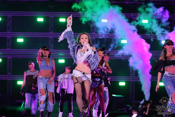 【ライブレポート】倖田來未、「a-nation 2019」大阪公演で見せた変化自在のパフォーマンスに首ったけ!<a-nation 2019>