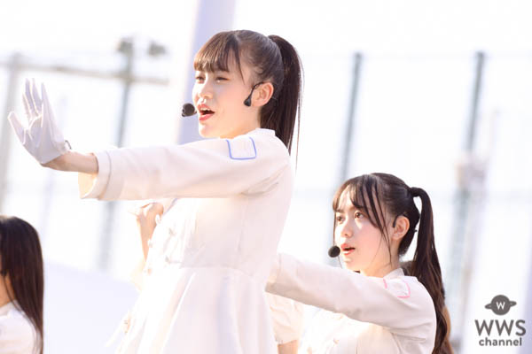 ラストアイドルが新曲『青春トレイン』初披露!史上最高のシンクロダンスに挑む <2019 神宮外苑花火大会>