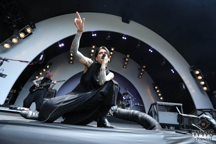 【ライブレポート】lynch.が、SOUND OF FORESTに登場!念願の夏フェス出演に歓喜!<ROCK IN JAPAN FESTIVAL 2019>