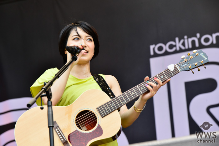【ライブレポート】miwaが眩しい陽射しを受けPARK STAGEに登場!ロックチューンで夏本番を盛り上げる!<ROCK IN JAPAN FESTIVAL 2019>