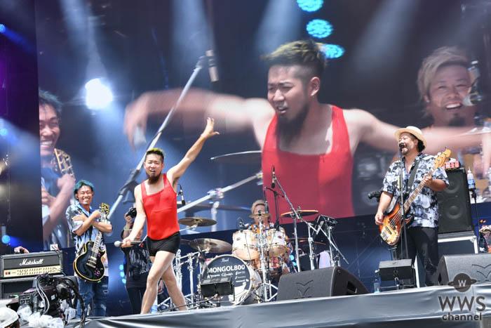 【ライブレポート】MONGOL800(モンパチ)、GRASS STAGEのオープニングでWANIMAとコラボ!<ROCK IN JAPAN FESTIVAL 2019>