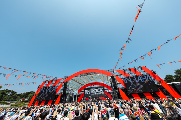 【ライブレポート】10周年を迎えた3ピースバンド・OKAMOTO'Sが「ROCK IN JAPAN FESTIVAL 2019」初日のLAKE STAGEに登場!代表曲『90'S TOKYO BOYS』で原点回帰のパフォーマンス魅せつける!<ROCK IN JAPAN FESTIVAL 2019>
