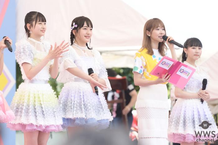 指原莉乃が『TIF2019』の開幕を宣言!HKT48・松岡はならと再会も!!